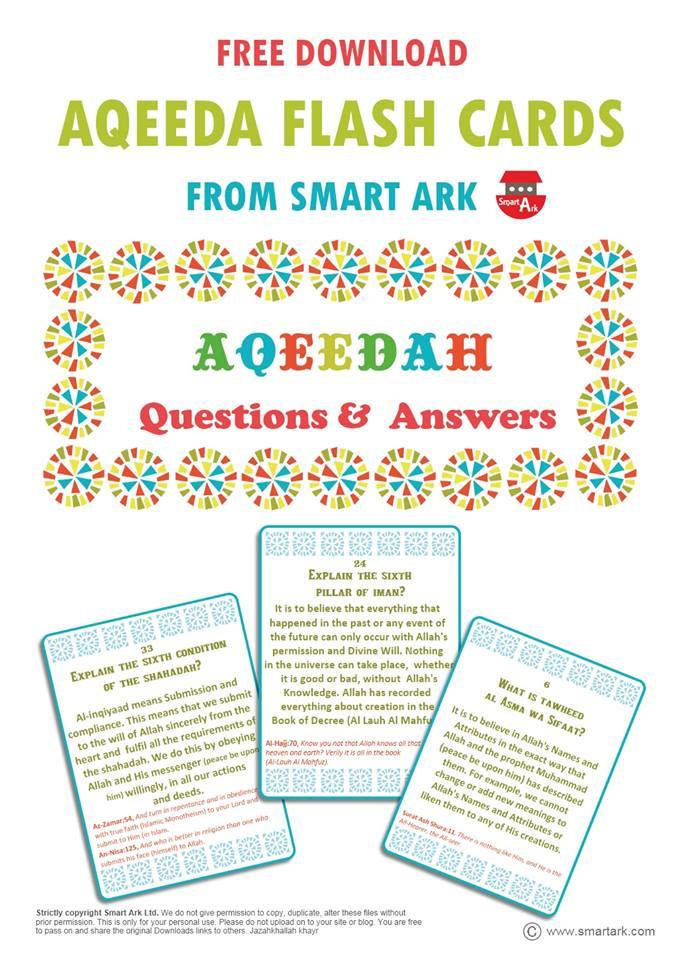aqeeda cards